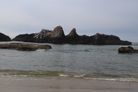 The ocean was refreshing