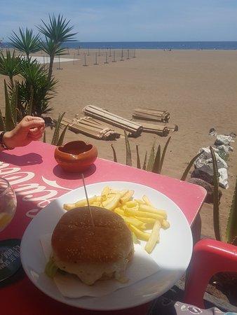 Pranzo vicino a playa chica