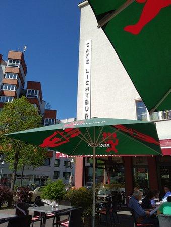 Lichtburg Restaurant: Terraza