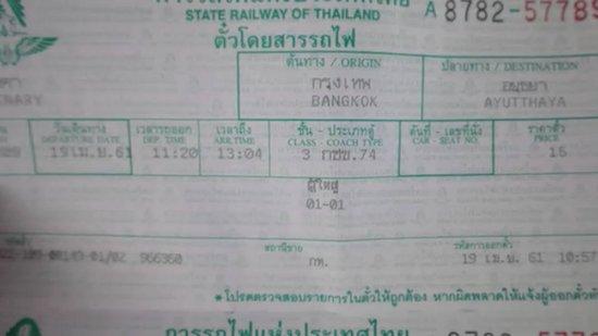 Ayutthaya, Thailand: タイ旅行、Day4。