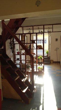 Muy bonito lugar , con un toque super retro en una bonita casita antigua del centro de Oaxaca