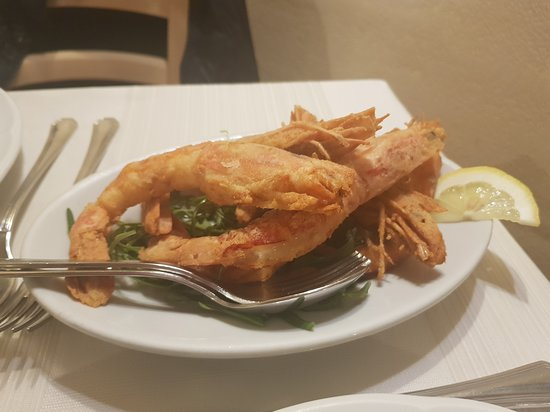 Gamberi fritti (antipasto)