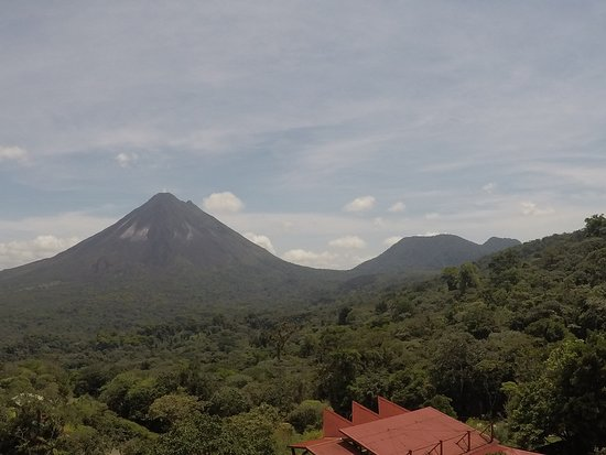 A view of both volcanoes!
