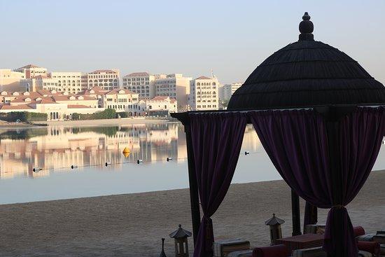 The Ritz Carlton across the river