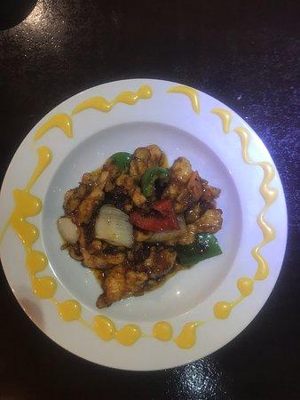Pollo estilo bangkok. Chicken bangkok style. Hühnchen Bangkok-Stil. Poulet à la bangkok. Pollo in stile bangkok.