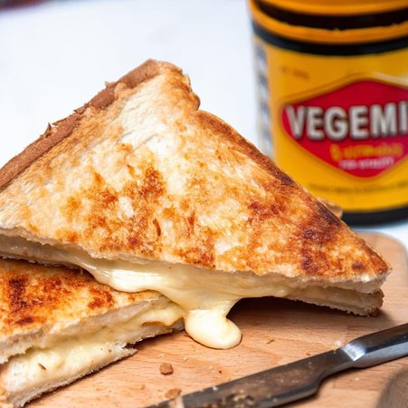 Try a classic Aussie meal.. Vegemite toastie