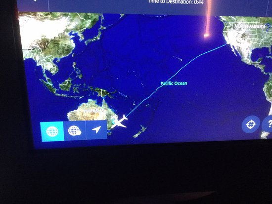 Delta Air Lines: flight route