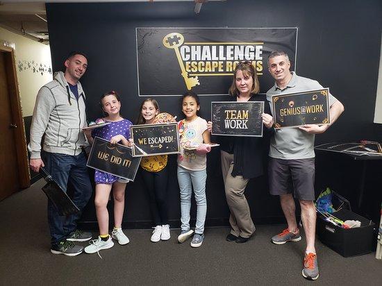 Challenge Escape Rooms - Franklin Square