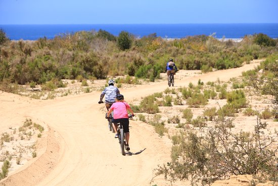 Los Cabos Mountain Bike Adventure and Eco-Farm: Scrambling back