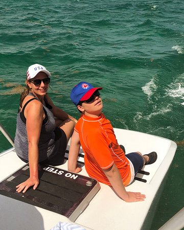 6.5-Hour Catamaran Cruise to Stingray City and Rum Point Beach: Chilling on the boat