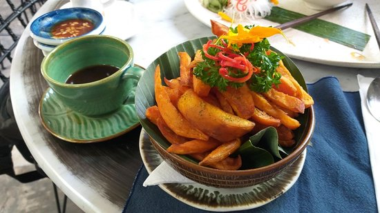 Tetsuo by Nook: Sweet potato fries.