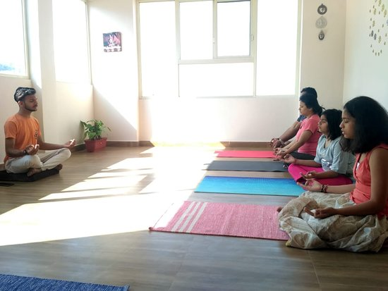 Rishikesh, India: Enjoy Free Yoga Classes during your stay and get fit and release all the stress.