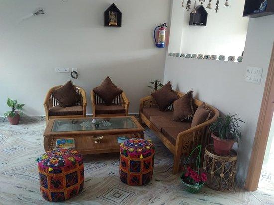 Rishikesh, India: common room