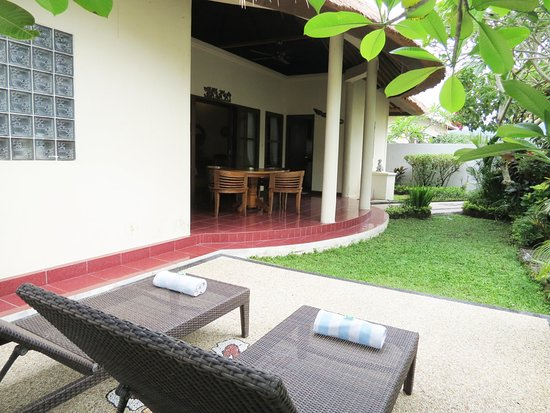 Terrace at 2Bedroom Hibiscus Villa #07