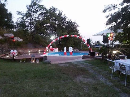 feste bordo piscina