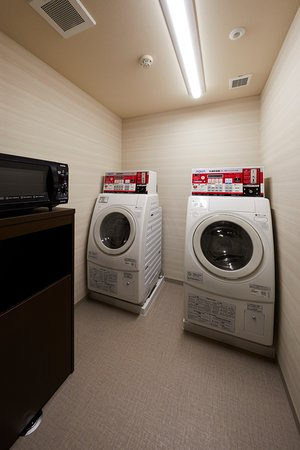 laundry machine room