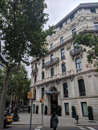Hotel Facade, very nice