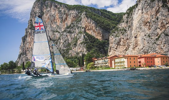 Try the 49er in Campione del Garda