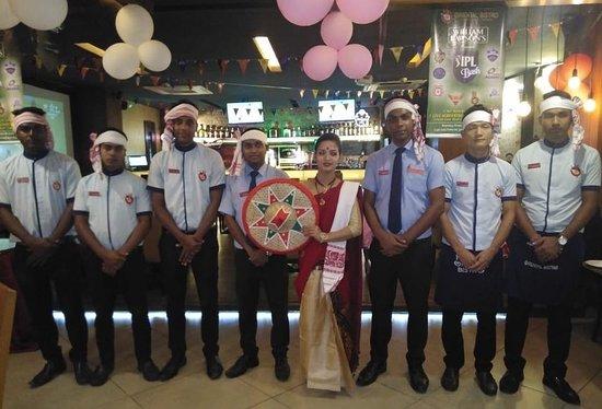 Our Team during Bihu 2019
