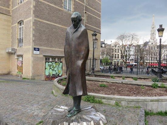 Monument to Composer Bela Bartok