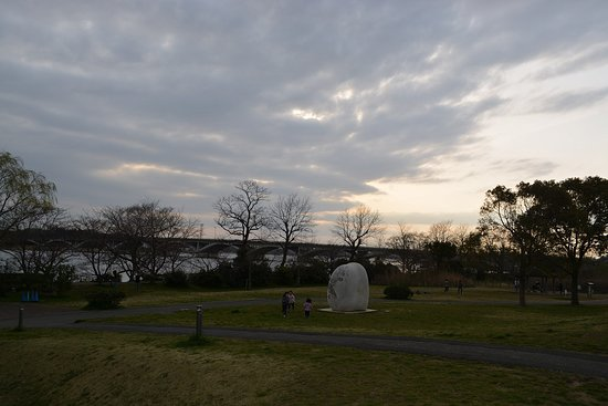 手賀沼と公園