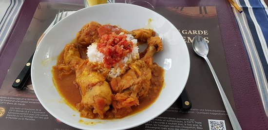 Restaurant Du Nord Au Sud: Ravioles chinoise et  rougail réunionnais le tout fait maison