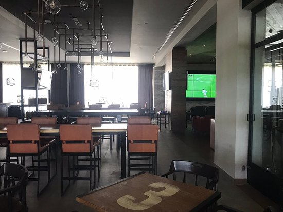 April 2019: Hyatt Ziva Cancún  Beautiful hotel with tons of beautiful spaces; have their own brewery where you can catch sports games on a large screen over a Beer ....