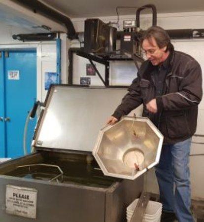 Making Ice Bowls
