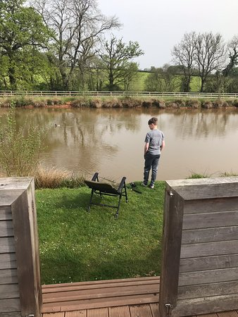 Upton Lakes Lodges: Beautiful Family Easter Break