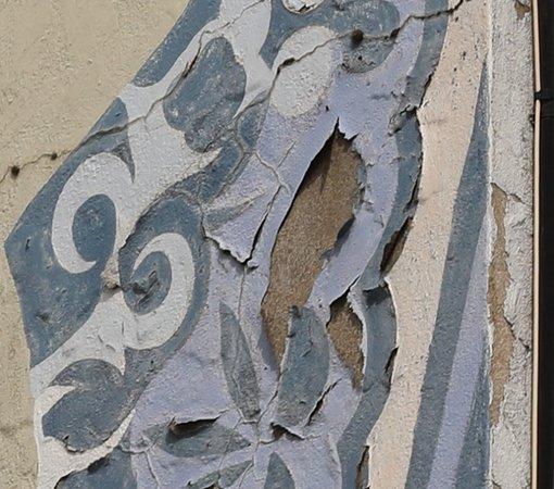 On peut s'apercevoir que cette fresque ne dure pas dans le temps et a besoin d'une rénovation !