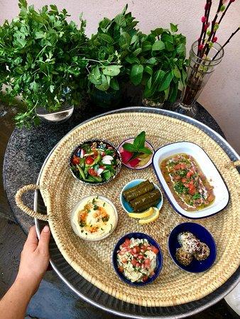 """Fatour Shami"" a Vegan Syrian Brunch. Please note: Dish served until 3 pm."