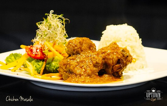 Our version of chicken masala.