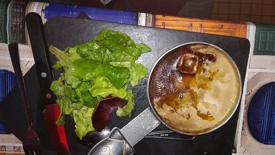 L'oeuf cocotte au foie gras