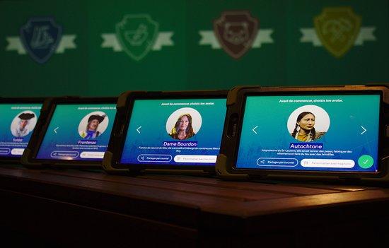 Choisissez votre avatar et parcourrez les différentes activités de la zone XP!