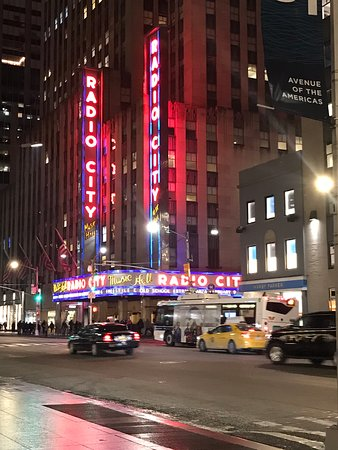 Radio City Music Hall: Muy lindo