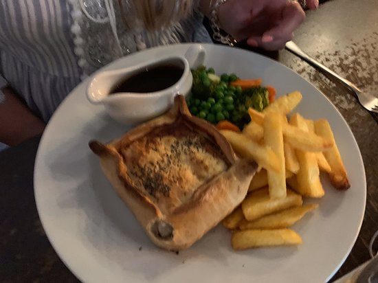 Ship Anson: Vegetarian pie