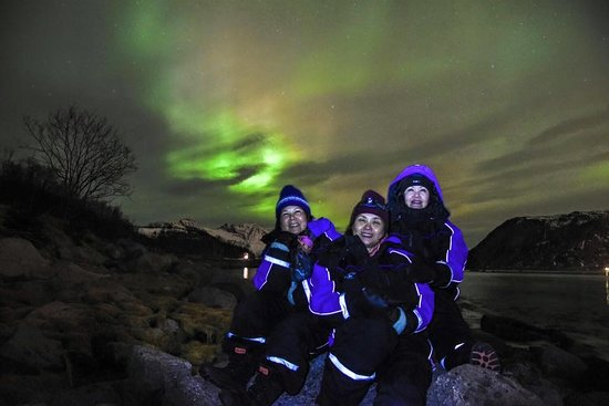 Tromsø, Na Uy: 5 January 2016, chasing the Northern Lights
