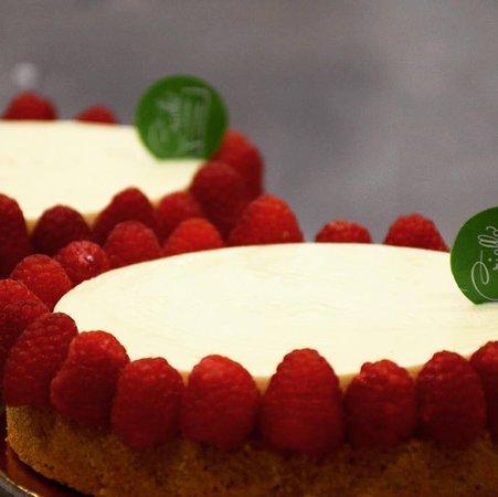 Pasticceria Criollo: Cheesecake al lampone