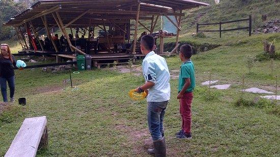 Parque Ecoturistico y Extremo Yaguare: jugando ando 