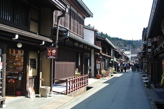 ‪טקיאמה, יפן: The old shops of Sannomachi Street Takayama‬