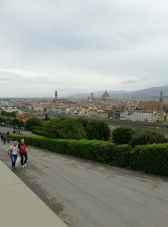 Panoramica de Florencia desde la Plaza de Miguel Angel.