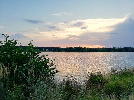 Aussichtsturm am Ufer des Murner See