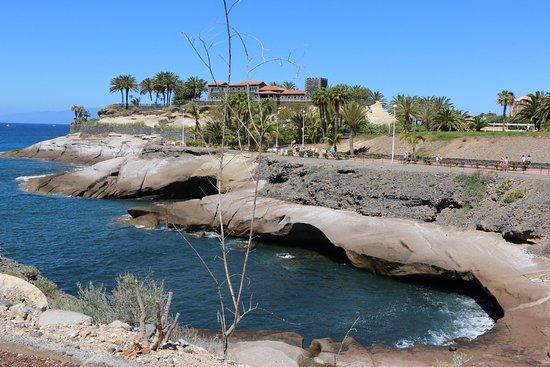 The castle at Playa Del Duque