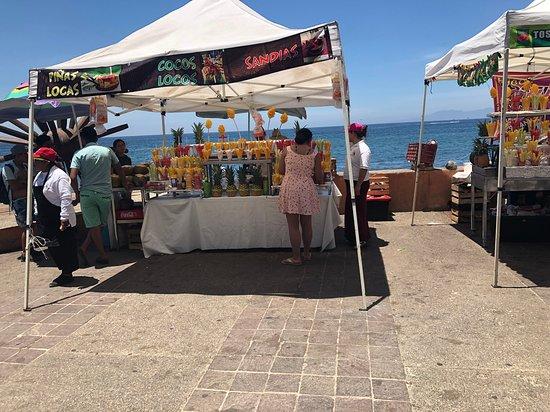 Malecón Boardwalk: Yummy!!
