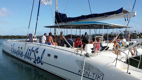 Cayo Santa Maria, Cuba: Crucero del Sol nuestra excursión estrella..
