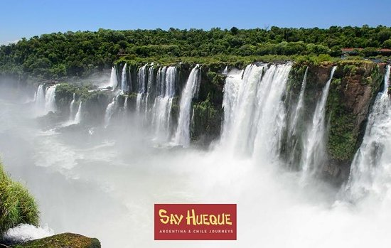 Say Hueque Iguazu Falls