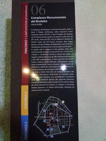 Il Broletto: Targa del Complesso Monumentale del Broletto
