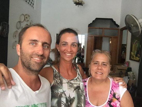 """con Maritza, nuestra """"madre"""" en Cuba :)"""