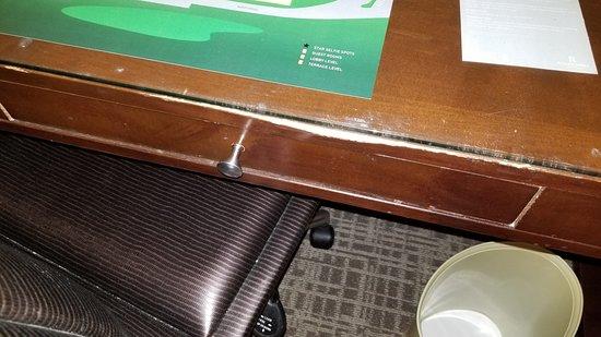 رينيسانس إنديان ويلز ريزورت آند سبا: Furniture falling apart