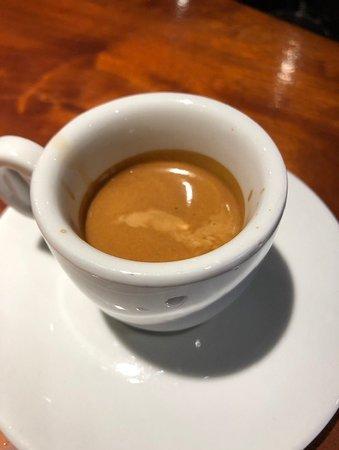 Casa Domenico: Perfect espresso